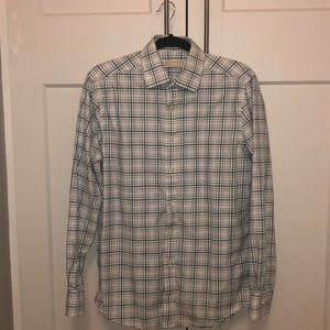Men's Michael Kors button down stripe shirt